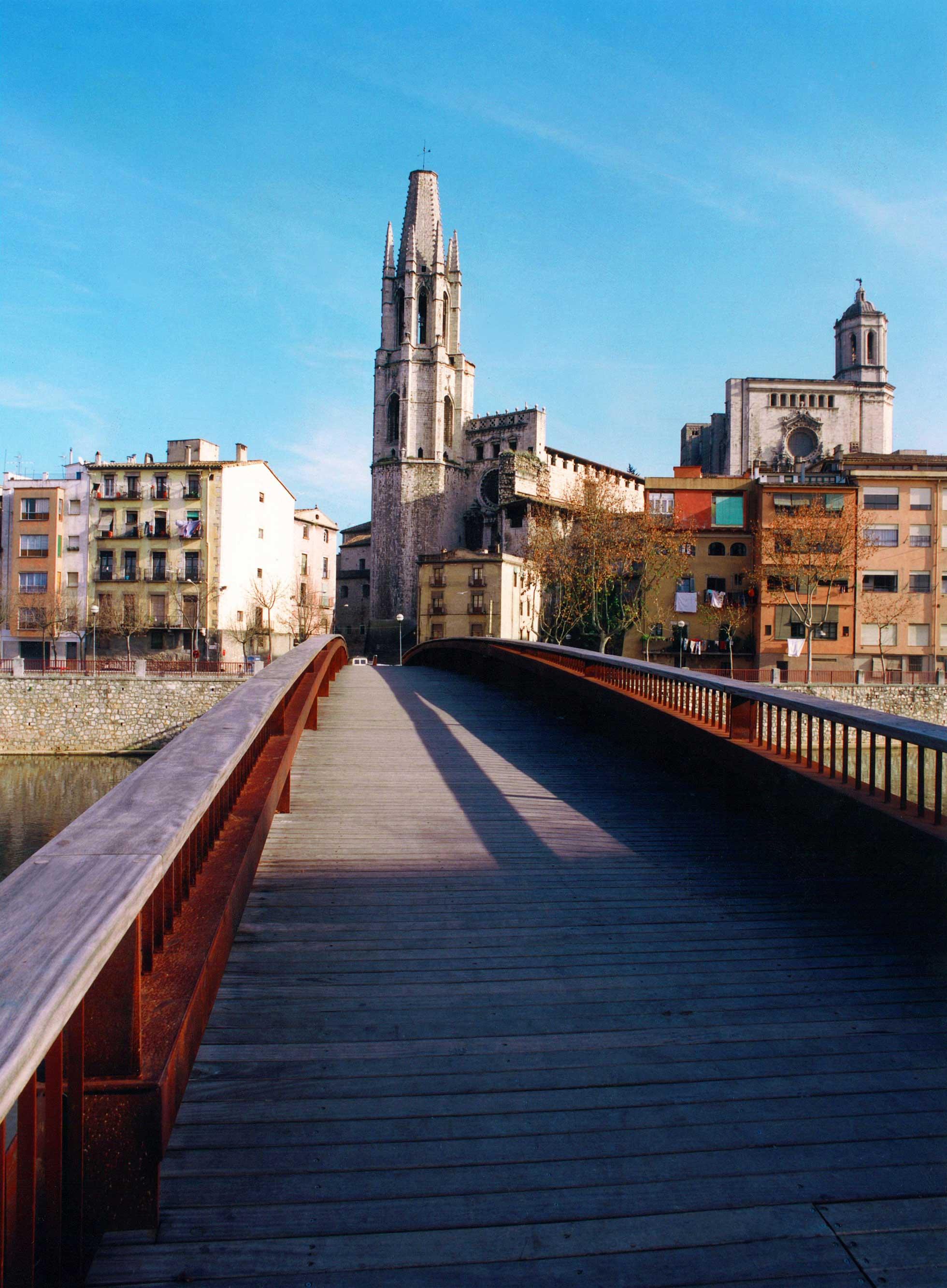 Footbridge Sant Feliu, Girona 1