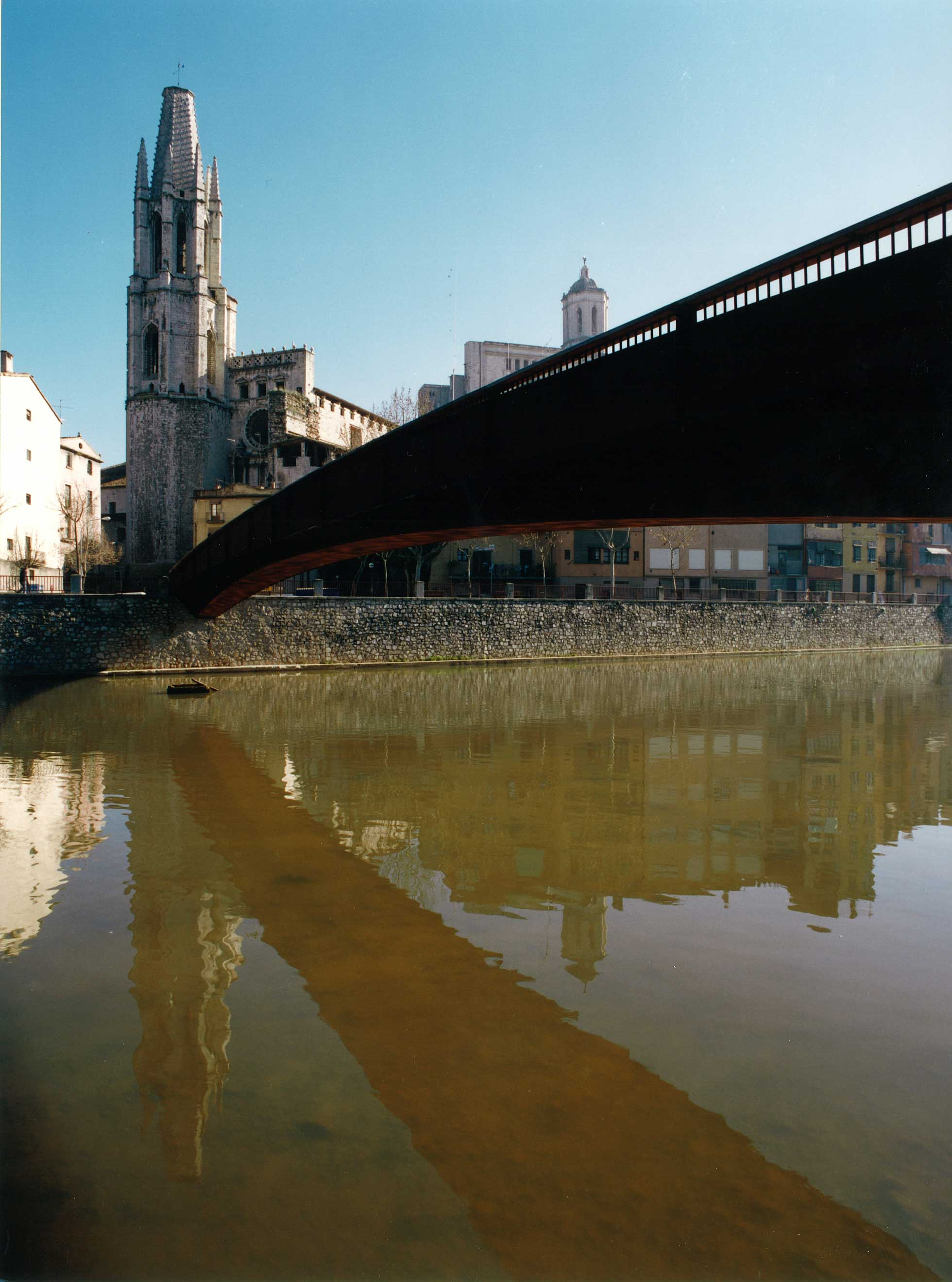 Passerelle Sant Feliu, Girona 5